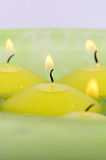 Floating candles. Royalty Free Stock Photography