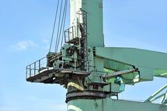 Floating cargo crane Royalty Free Stock Images
