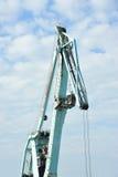 Floating cargo crane Stock Photography