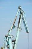 Floating cargo crane Royalty Free Stock Photography