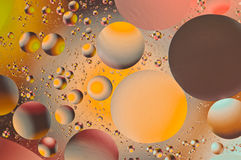 Floating circles of color Royalty Free Stock Photography