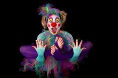 Floating clown Stock Photos