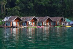 Floating cottage Stock Photography