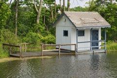 Floating Cottage Royalty Free Stock Photo