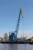 Floating crane Stock Photography
