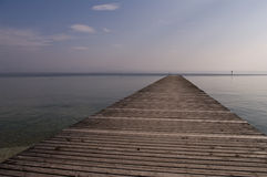 Floating dock Royalty Free Stock Photos