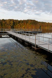 Floating dock Royalty Free Stock Photography