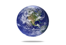 A floating Earth Royalty Free Stock Photography