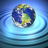 Floating Earth Royalty Free Stock Images