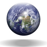 Floating earth Royalty Free Stock Photo