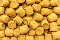 Floating extruded fish feed Stock Images