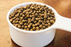 Floating Fish Feed Pellet Stock Images
