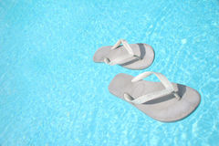 Free Floating Flip Flops Royalty Free Stock Photography - 560437