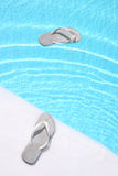 Floating Flip Flops Royalty Free Stock Photo