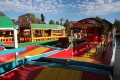 Floating garden in Xochimilco - Mexico royalty free stock photos