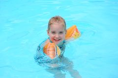 Floating Girl Royalty Free Stock Image