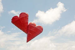 Floating Hearts Stock Photos