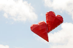 Floating Hearts Royalty Free Stock Photo