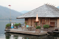 Floating hotel house Royalty Free Stock Images