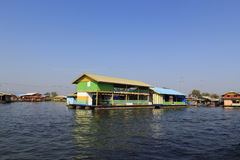 Floating house Royalty Free Stock Photos