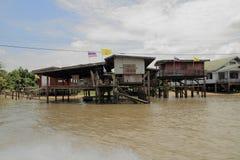 Floating house in Bangkok Royalty Free Stock Photos