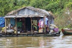 Floating House Cambodia Stock Photography