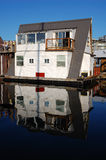 Floating house in fishman's wharf Stock Photos