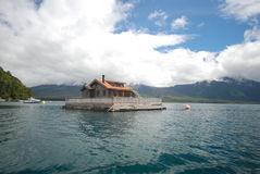 Floating house Stock Photography