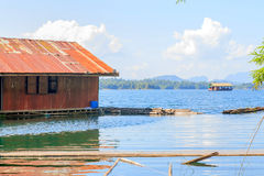 Floating house Royalty Free Stock Photography