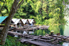 FLOATING HOUSES Stock Photography