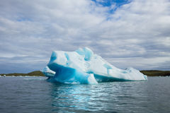 Floating Ice. Royalty Free Stock Photography