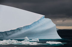 Floating Iceberg near Antarctica Stock Photography