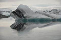 Floating icebergs, Iceland Royalty Free Stock Image