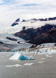Floating Icebergs Pacific Ocean Aialik Bay Alaska North America. Icebergs float in the ocean just calved off local glaciers stock photography