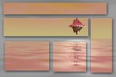 Floating island Stock Images