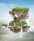 Floating island Stock Image