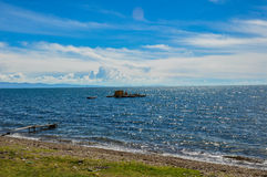 Floating island, Titicaca Lake, Bolivia Royalty Free Stock Image
