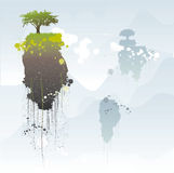 Floating islands Stock Images