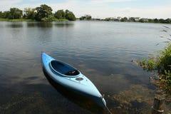 Floating Kayak Royalty Free Stock Photography