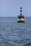 Floating lighthouse Stock Images