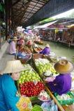 Floating Market stock image