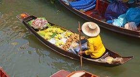 Floating Market. Damnoen Saduak floating market in Ratchaburi near Bangkok, Thailand Stock Images