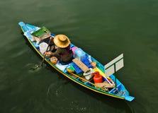Floating market. In hatyai thailand Royalty Free Stock Photo