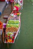 Floating Market. Damnoen Saduak floating market in Ratchaburi near Bangkok, Thailand Royalty Free Stock Photography