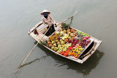 Floating market Stock Photo