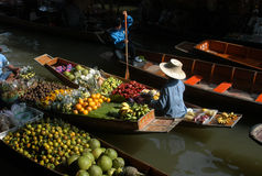 Floating Market Royalty Free Stock Image