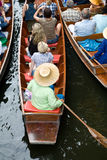 Floating market Royalty Free Stock Photography