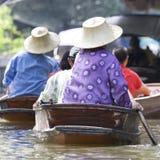 Floating Market Royalty Free Stock Photos