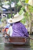 Floating Market Royalty Free Stock Images