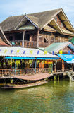 Floating market amphawa Royalty Free Stock Photo